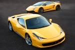 Köra Ferrari & Lamborghini 20 km upplevelse gåva