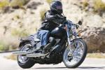 Kör 40 km med Harley Davidsson
