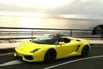 Kör Lamborghini upplevelse 10 km