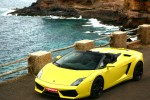 Upplev en åktur med en Lamborghini