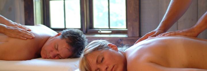 Duo-behandling massage upplevelse