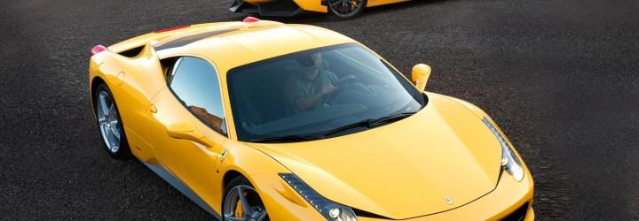 Kör Ferrari & Lamborghin