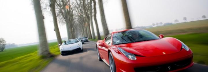 Kör Ferrari & Lamborghini Stockholm