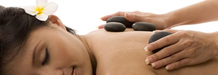 Massage med varma stenar upplevelse