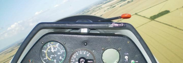 Segelflyg upplevelse present
