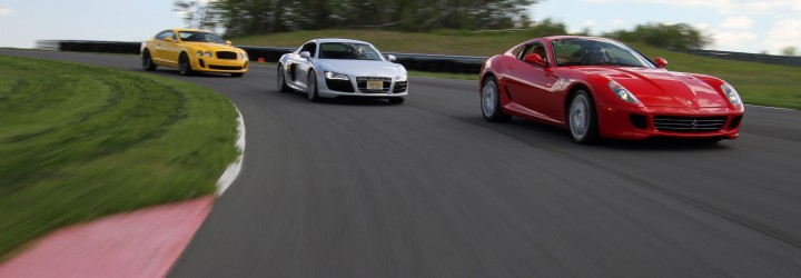 supercar tour upplevelse företagsevent