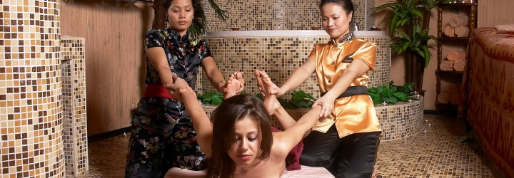 Thai Massage prova på