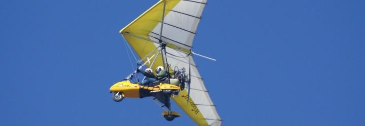 Kör Ultralätt Flygplan upplevelse present